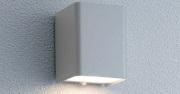 ユニソンエコルトウォールライトEA01007材質:ステンレス、アクリルサイズ:幅85×高さ110×奥行90ミリ重量:0.5キロ