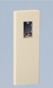 ユニソンコンセントポールEA1270100材質:GRC(ガラス繊維強化セメント)カラー:アイボリー(吹付け仕上げ)サイズ:幅160×高さ500(800)×奥行60ミリ重量:17.0キロ入力電圧:AC100V