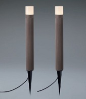 ユニソンエコルトポールライト2本セットEB11015052サイズ:φ60×高さ480(680)ミリ重量: 0.7キロ
