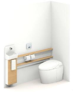 TOTO【UWLJBASA32BNNAFF】ネオレストワンデーリモデル手洗器付Sサイズカウンタータイプメーカー直送材のみ画像はイメージとなります。