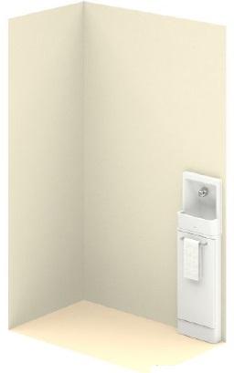 TOTO【UWLJUASA3NANNAFF】スリムタイプC(埋込あり)単体タイプ手洗器付メーカー直送材のみ画像はイメージとなります。
