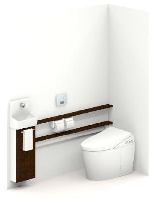 TOTO【UWLGSASS32BNNABB】ネオレストワンデーリモデル手洗器付Sサイズカウンタータイプメーカー直送材のみ画像はイメージとなります。
