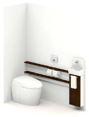 TOTOUWLJBASS32ANNABBネオレスト手洗器付Sサイズカウンタータイプメーカー直送材のみ