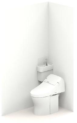 TOTOUWD4AA2LZGG手洗器付コーナータイプ大便器機種GG1大便器排水タイプ壁排水後ろ抜き(排水心高さ90-155ミリ)手洗器タイプコーナータイプ扉・カウンターカラーなしメーカー直送