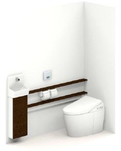 TOTOUWLHBASA3NBNNABBネオレスト手洗器付Sサイズカウンタータイプメーカー直送材のみ