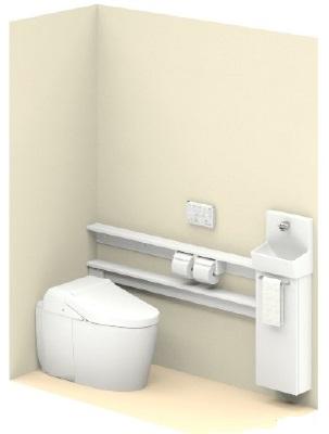 TOTO【UWLLAASS32ANNAWW】ネオレストワンデーリモデルネオレスト手洗器付Sサイズカウンタータイプメーカー直送材のみ