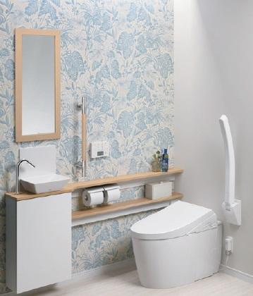 TOTO【UWLGAAMA11B21AWF】ネオレストワンデーリモデルキャビネット・便器・手洗器カラー:ホワイトカウンターカラー:ミルベージュバックパネル・アームレストは含みません。メーカー直送材のみ