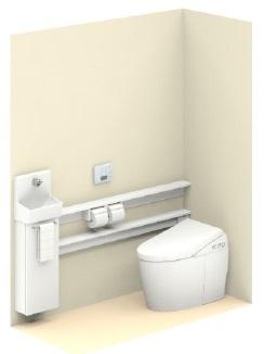 TOTO【UWLGSASS32BNNAWW】ネオレストワンデーリモデル手洗器付Sサイズカウンタータイプメーカー直送材のみ画像はイメージとなります。