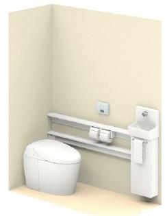 TOTO【UWLJUASS32ANNAWW】ネオレストワンデーリモデル手洗器付Sサイズカウンタータイプメーカー直送材のみ画像はイメージとなります。