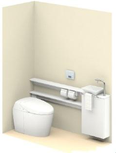 TOTO【UWLJUAMS32ANNAWW】ネオレストワンデーリモデル手洗器付Mサイズカウンタータイプメーカー直送材のみ画像はイメージとなります。
