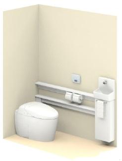 TOTO【UWLKAASS32CNNAWW 】ネオレストワンデーリモデル手洗器付Sサイズカウンタータイプ給排水タイプ壁排水後ろ抜きリモデル用RH2Wタイプメーカー直送材のみ画像はイメージとなります。