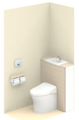 TOTOUWCCE1CFN8NNN1HKAレストパル(床排水) I型壁排水ウォシュレットタイプアプリコットF1Aタイプメーカー直送材のみ
