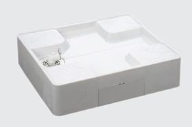 シナネンUSB-7464SNW740X640洗濯機パン床上配管タイプ横引きトラップ付