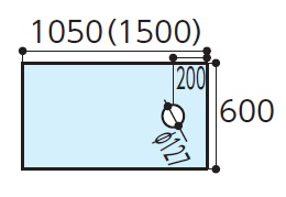 TOTOAGF300ハイドロセラフロアJ床排水大便器(排水心200ミリ)寸法:600×1050×12付属品:・専用接着剤×1・便器取付部材(専用ドリル刃)×1下のボックスでカラーをお選びください