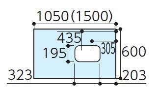 TOTOAGF309ハイドロセラフロアJリモデル大便器(排水心120ミリ/200ミリ以外)寸法:600×1050×12付属品:・専用接着剤×1・便器取付部材(専用ドリル刃)×1(フランジ用嵩上げ部材)×1下のボックスでカラーをお選びください