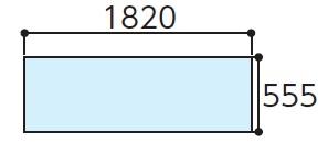 TOTOAGF622AハイドロセラフロアJ 全面セラミック寸法:555×1820×11下のボックスでカラーをお選びください
