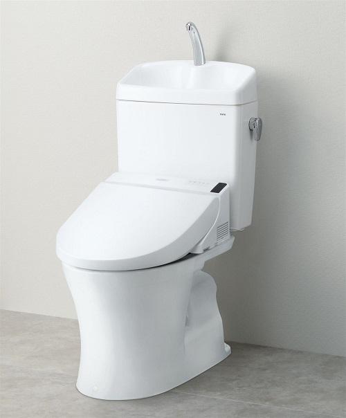 TOTOピュアレストQR 4.8LCS230B+SH233BA手洗い付きタンクセット止水栓付き【便座は含まず】