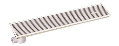 TOTOEWB633P浴室排水ユニット(樹脂製グレーチング)非防水層タイプ(横引きトラップ)【寸法】A:996/B:196/C:80画像はEWB633P