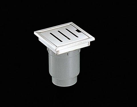 TOTOYTB750SP浴室排水ユニット(ステンレス)非防水層タイプ(横引きトラップ)【寸法】A:744/B:144/C:80画像はYTB150SR(縦引きトラップ)
