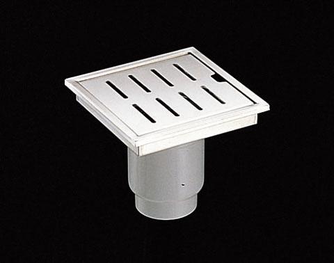 TOTOYTB600DP浴室排水ユニット(ステンレス)非防水層タイプ(横引きトラップ)【寸法】A:596/B:196/C:80画像はYTB200DR