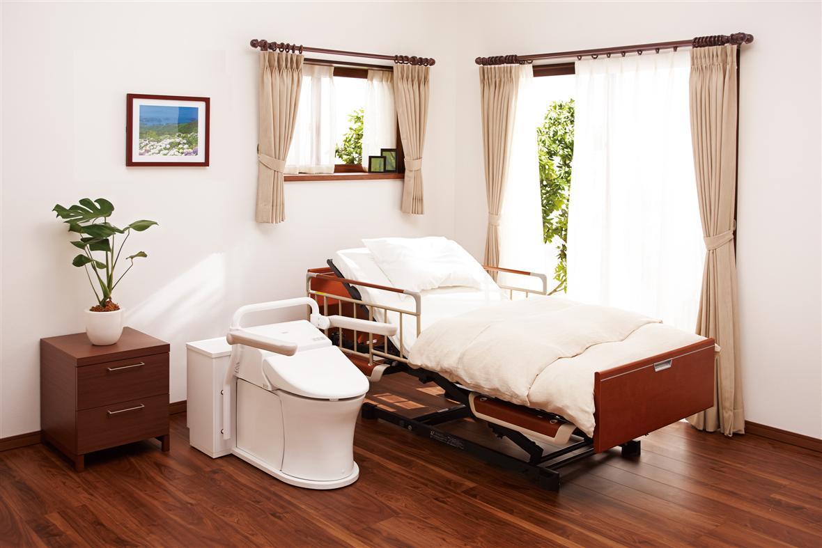 TOTO bedside flush toilet EWRS310