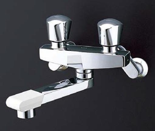 TOTO 【TMH20-2A20】 壁付2ハンドル混合水栓呼び径20ミリスパウト長さ170mm受注生産品