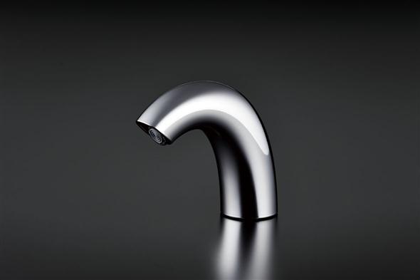 TOTOTENA50Aアクアオート(自動水栓 AC100Vタイプ)サーモ水栓(高温出湯規制)ソフト吐水・ワンプッシュなし