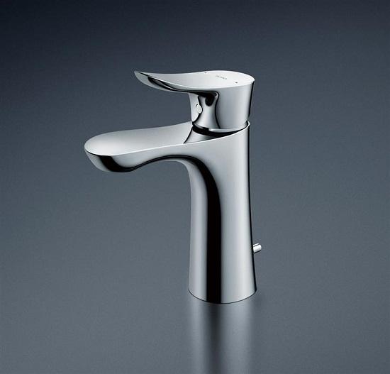 TOTO 洗面器用シングル水栓GOシリーズ【TLG01302J】ワンプッシュ式水栓本体のみ