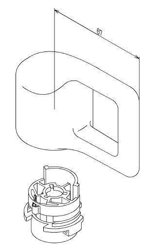 TOTOシャワー用切替ハンドル部THA1-5 価格 数量は多