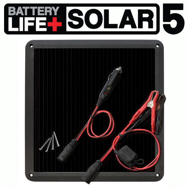 NOCO(ノコ) ソーラーチャージャー (メンテナー) 充電器 BLSOLAR5