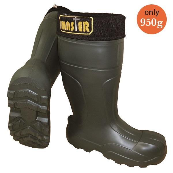 CAMMINARE(カミナーレ) EVA防寒セーフティブーツ 長靴 Master(25.5CM/26.5CM/27.5CM) グリーン