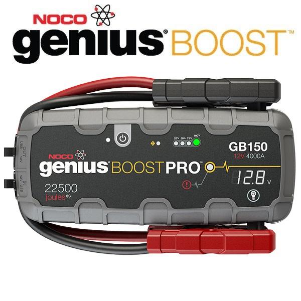 NOCO(ノコ) ジャンプスターター GB150 12V 4000A 容量8000mAh ブーストPRO LEDライト付き