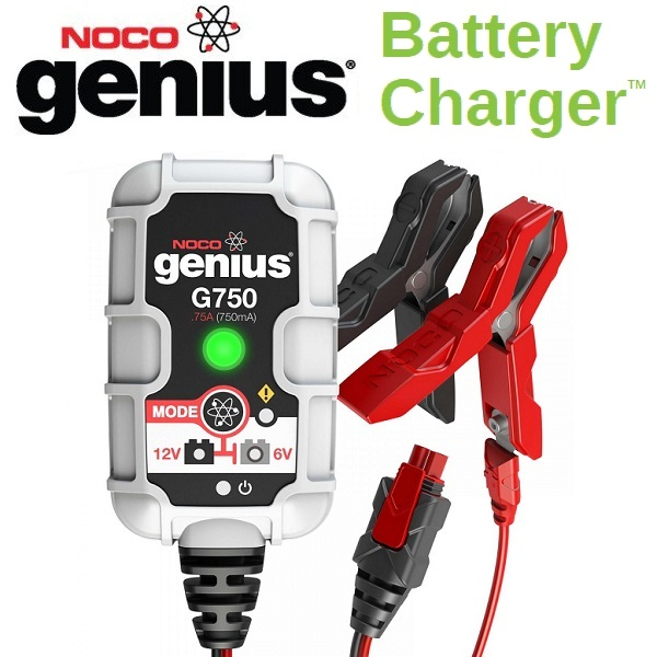 NOCO(ノコ) バッテリーチャージャー G750 6V&12V 充電電流750mA  Battery Chargers