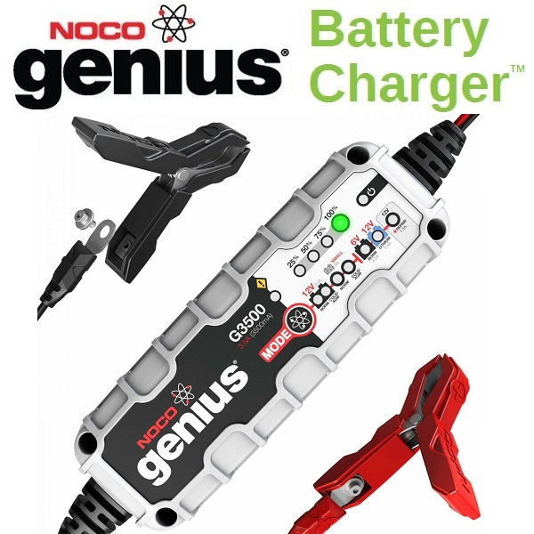 NOCO(ノコ) バッテリーチャージャー G3500 6V&12V 充電電流3.5A  Battery Chargers
