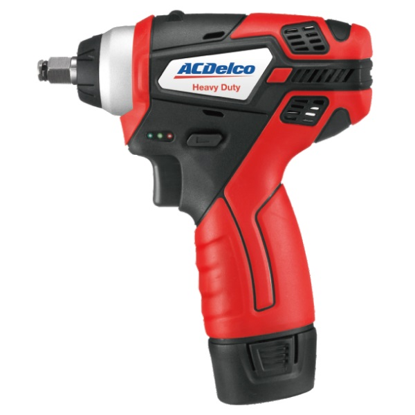 """ACDELCO 3/8"""" コンパクト 電動インパクトレンチ 充電式 コードレス【バッテリー充電器別売】"""