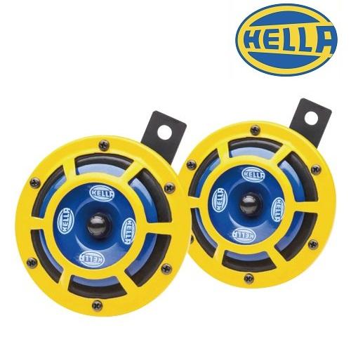 ドイツ HELLA社製 確かな品質を誇るワンランク上のホーン HELLA HORNS ヘラーホーン SHARP HORN 低廉 車検対応 115dB 激安超特価 TWIN 2個セット TONE