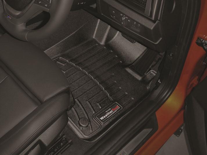 BMW 1シリーズ F20(5ドアハッチバック)右ハンドル車 フロアマット/フロアライナー(フロント&リア)(ブラック)