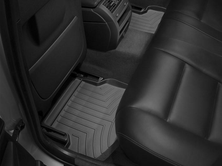 【WeatherTech/ウェザーテック正規輸入元】BMW 5シリーズ F10(セダン)/F11(ツーリング)右ハンドル車 フロアマット/フロアライナー(リア)(ブラック)