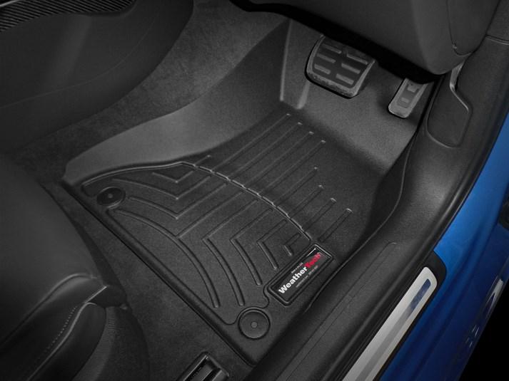 【WeatherTech/ウェザーテック正規輸入元】Audi(アウディ) A5/S5/RS5(8T) 右ハンドル車 フロアマット/フロアライナー(フロント)(ブラック)