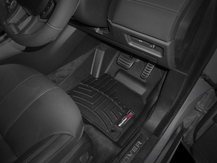 【WeatherTech/ウェザーテック正規輸入元】Land Rover(ランドローバー)レンジローバーイヴォーク(2012~2018年)右ハンドル車 フロアマット/フロアライナー(フロント&リア)(ブラック)