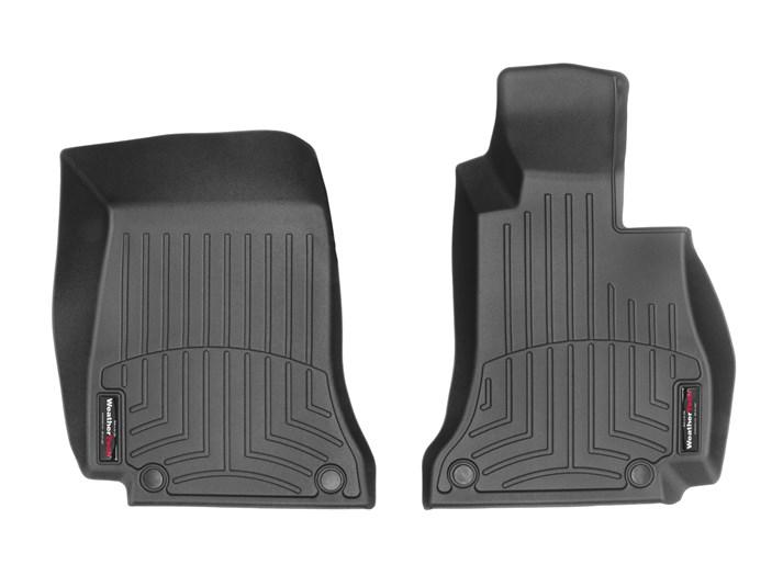 MERCEDES BENZ(メルセデス ベンツ) Cクラス C205 クーペ(2014~2017年)右ハンドル車 フロアマット/フロアライナー(フロント)(ブラック)