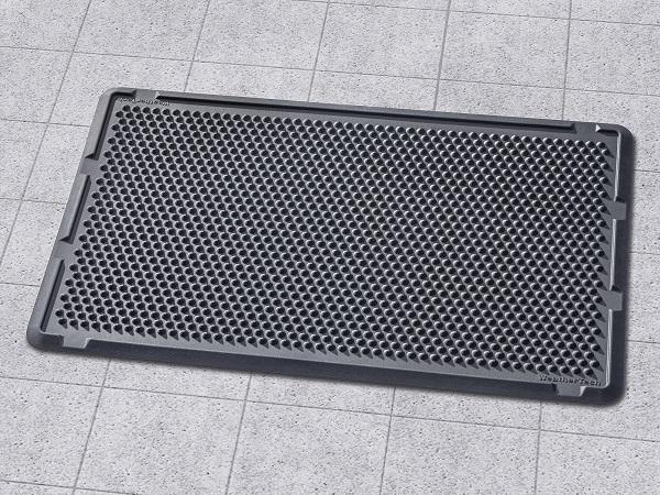 WeatherTech(ウェザーテック) 玄関マット/ドアマット(サイズ:76cm×152cm)(ブラック)