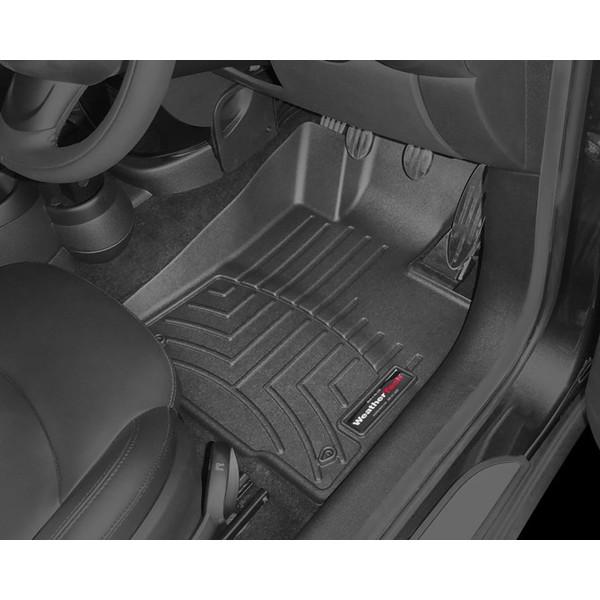 MINI クロスオーバー R60/ペースマン R61 右ハンドル車 フロアマット/フロアライナー(フロント&リア)(ブラック)