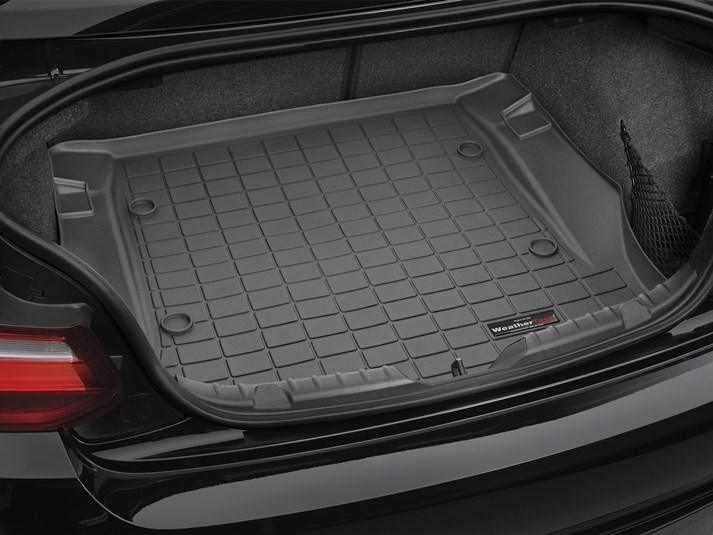 【WeatherTech/ウェザーテック正規輸入元】BMW 2シリーズ F22(クーペ)カーゴライナー/ラゲッジマット(ブラック)