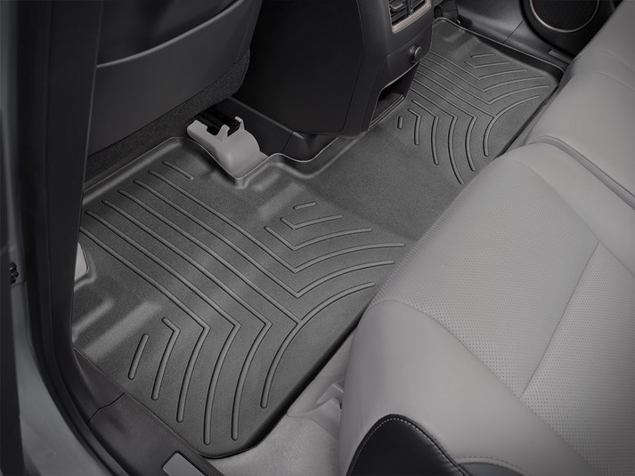 【WeatherTech/ウェザーテック正規輸入元】Lexus(レクサス) RX(2016年~) フロアマット/フロアライナー(リア)(ブラック )
