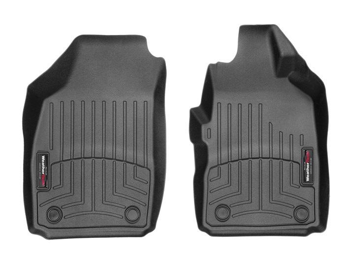 FIAT(フィアット) 500(2012~2017年)右ハンドル車 フロアマット/フロアライナー(フロント)(ブラック)