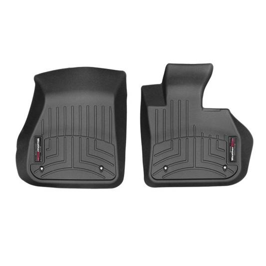BMW XシリーズX1(F48)/2シリーズ F45(アクティブツアラー)/2シリーズ F46(グランツアラー)(2014年~)右ハンドル車 フロアマット/フロアライナー(フロント)(ブラック)