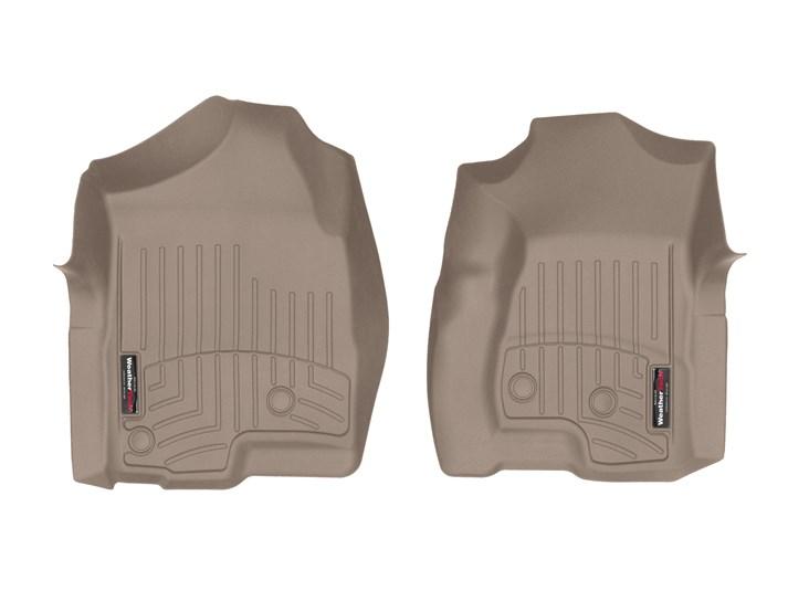 【WeatherTech/ウェザーテック正規輸入元】キャデラック エスカレード (2002~2006年)左ハンドル車 フロアマット/フロアライナー(フロント 1列目)(タン)