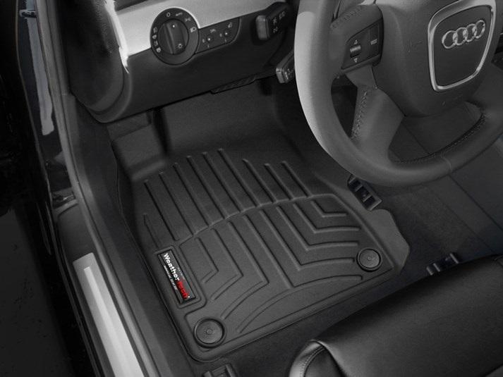 Audi(アウディ) A4/S4/RS4(2002~2008年)左ハンドル車 フロアマット/フロアライナー(フロントのみ)(ブラック)
