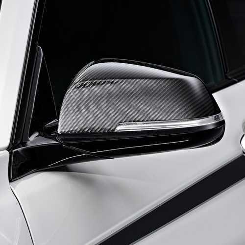 BMW純正 M Performance カーボン・ミラー・カバー(F20/F22/F23/F30/F31/F32/F33/F34/F36/F87/E84((2012/7~))